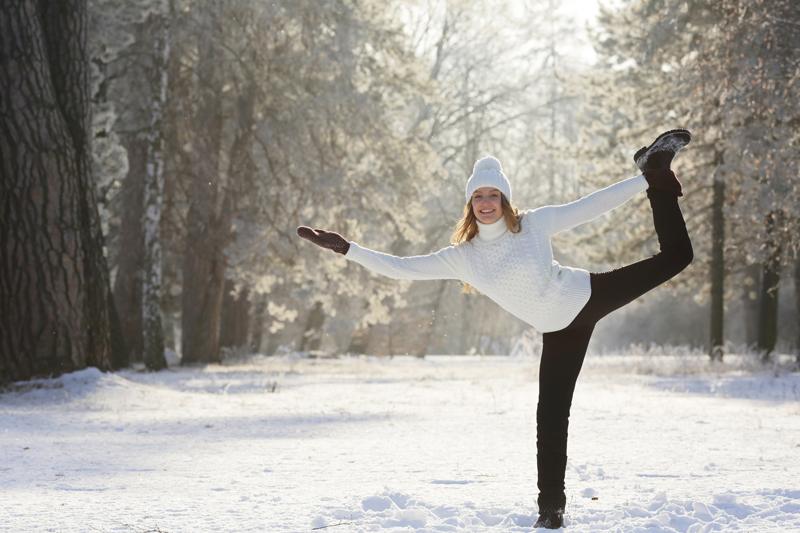 Yoga hiver
