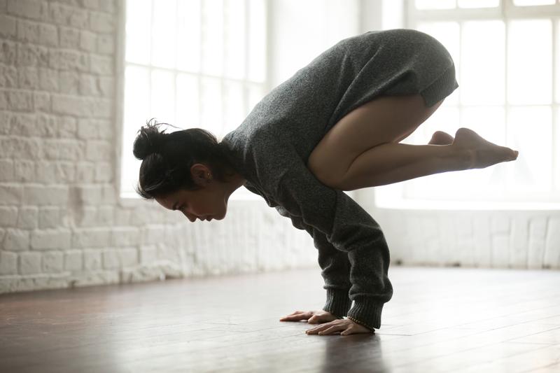 Yoga tonifier bras