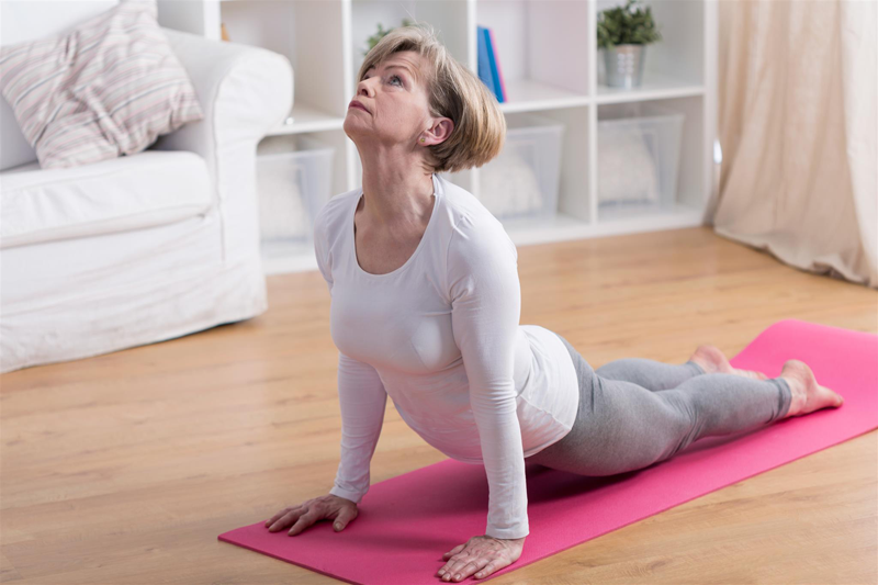 Yoga ménopause