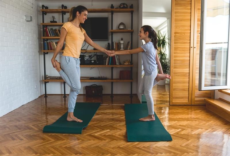 yoga immobilité
