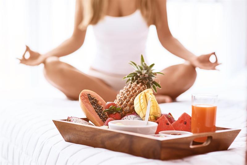 yoga manger après