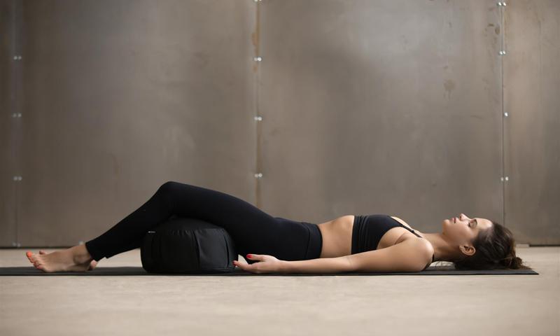 Yoga coussin