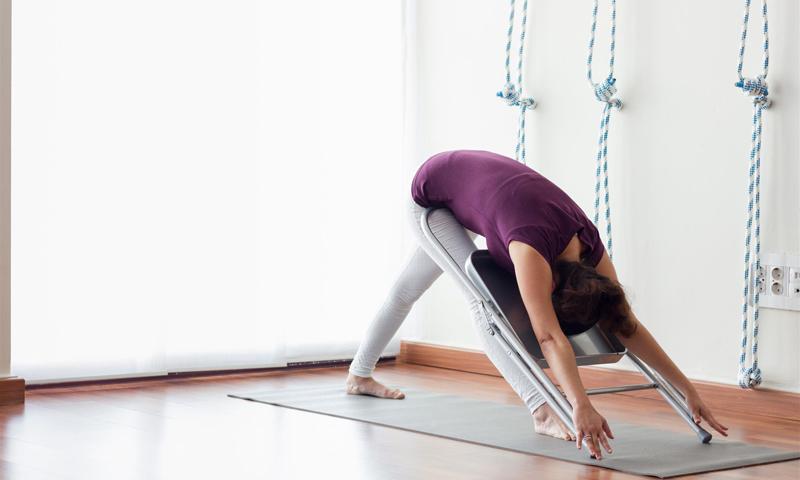 yoga chaise