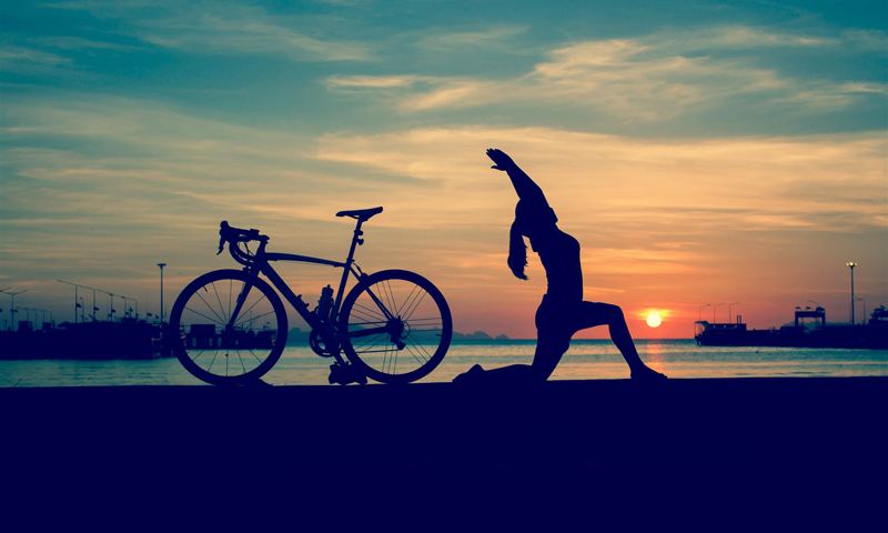 yoga cycliste