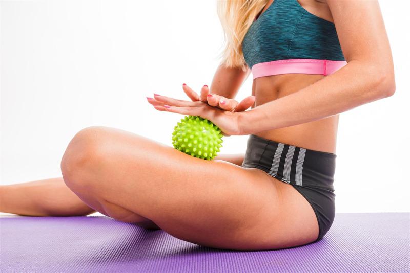 Yoga balle de massage