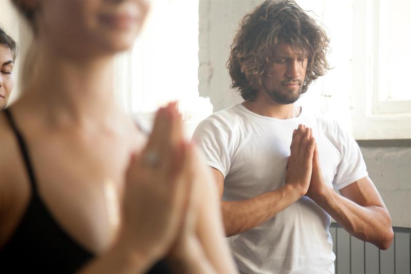 yoga chakra coeur