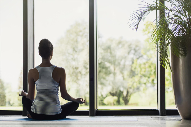yoga 5 min méditation