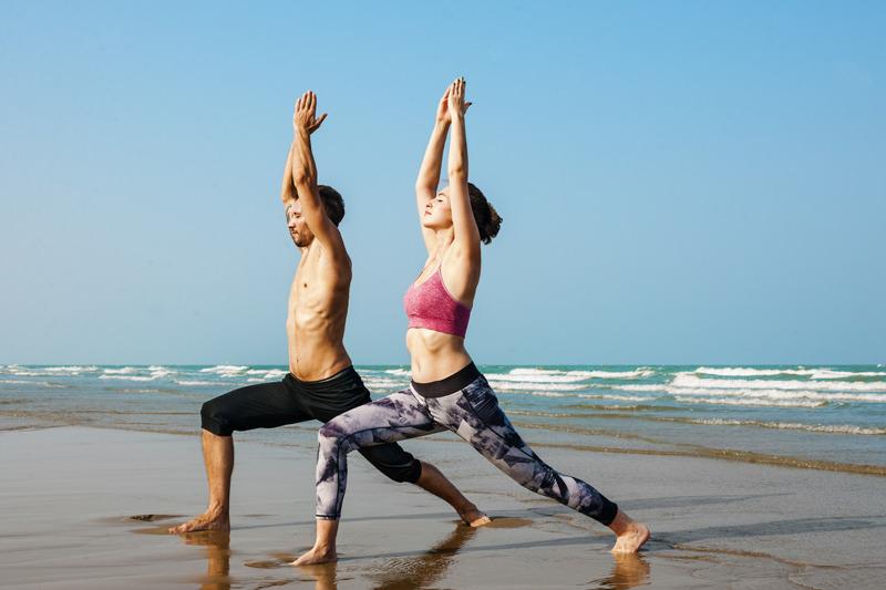 yoga et voyage