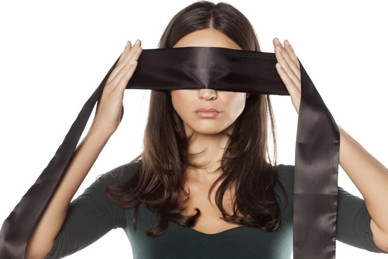 yoga yeux bandés
