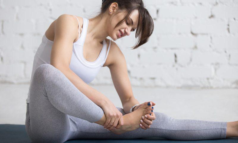 Yoga blessure