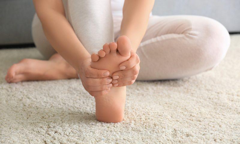yoga crampes