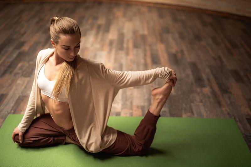 Yoga des pieds