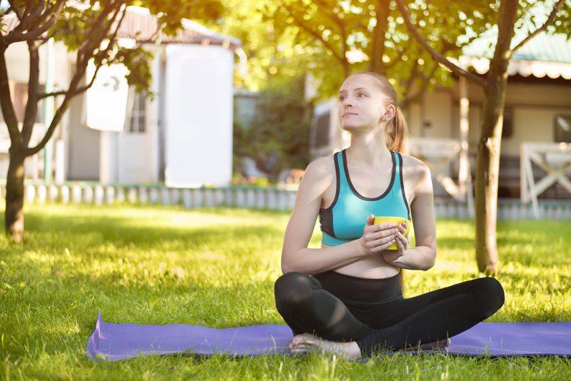 Yoga thé vert