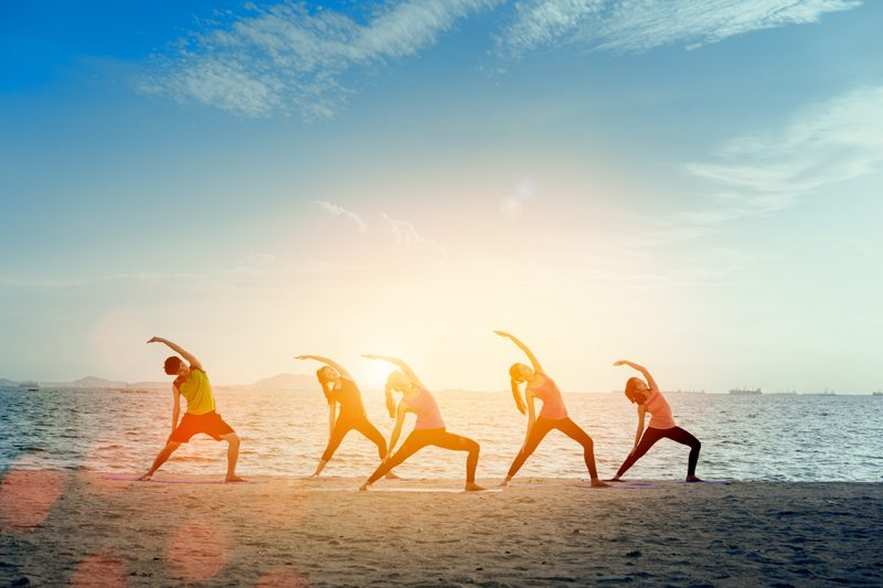 yoga organiser retraite