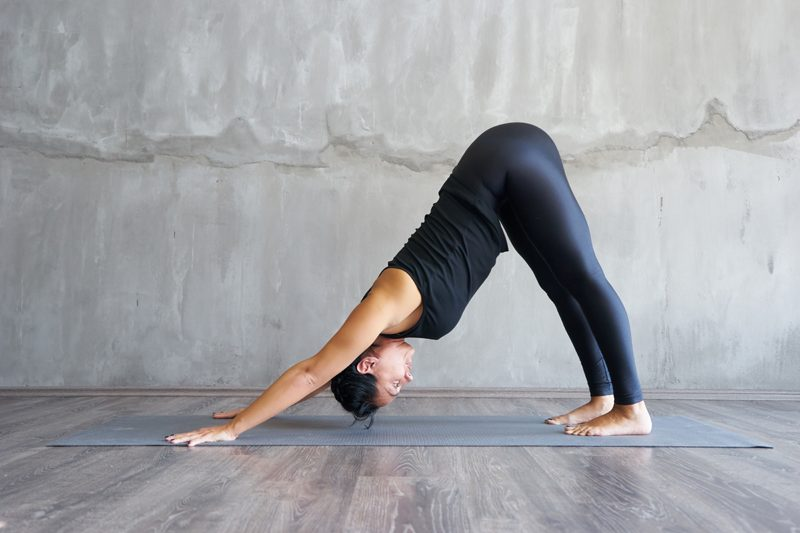 Yoga torsion coeur