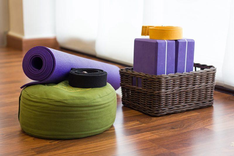 importance des accessoires de yoga
