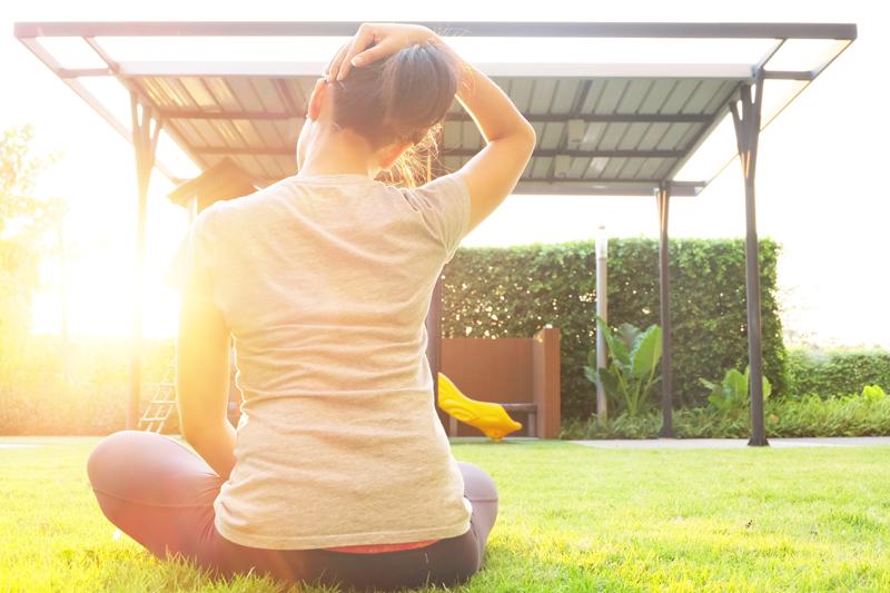 Le yoga et les douleurs cervicales