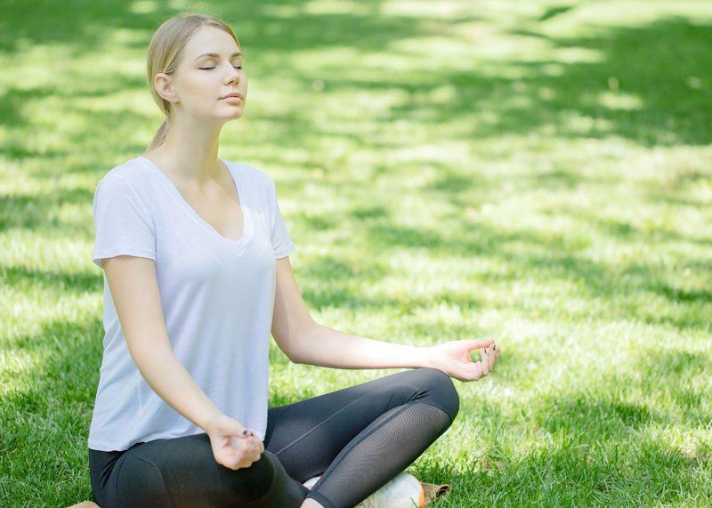 Pensées positives et méditation
