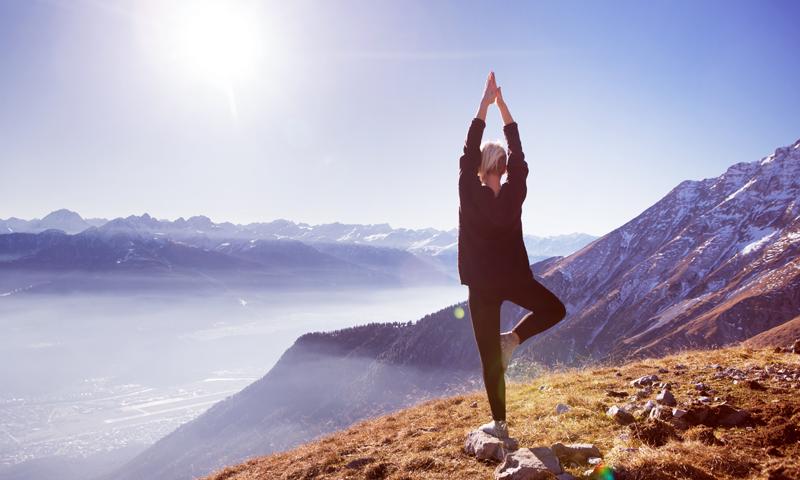 Le yoga en montagne