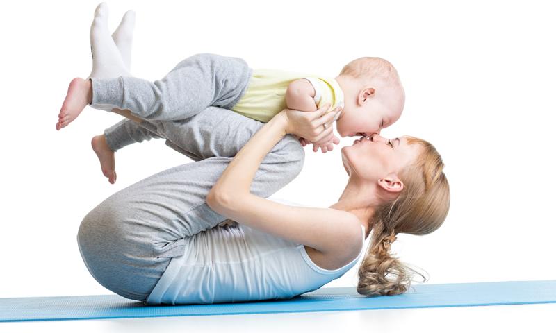 Faire du yoga avec son bébé, c'est possible !